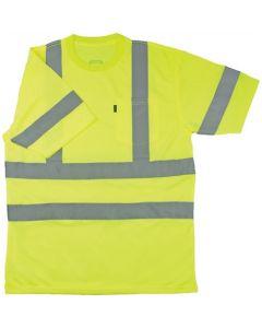 ANSI II Class 3 Hi-Visibility Pocket T-Shirt